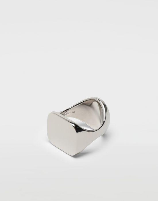 MAISON MARGIELA Chevalier palladium ring Ring [*** pickupInStoreShippingNotGuaranteed_info ***] d