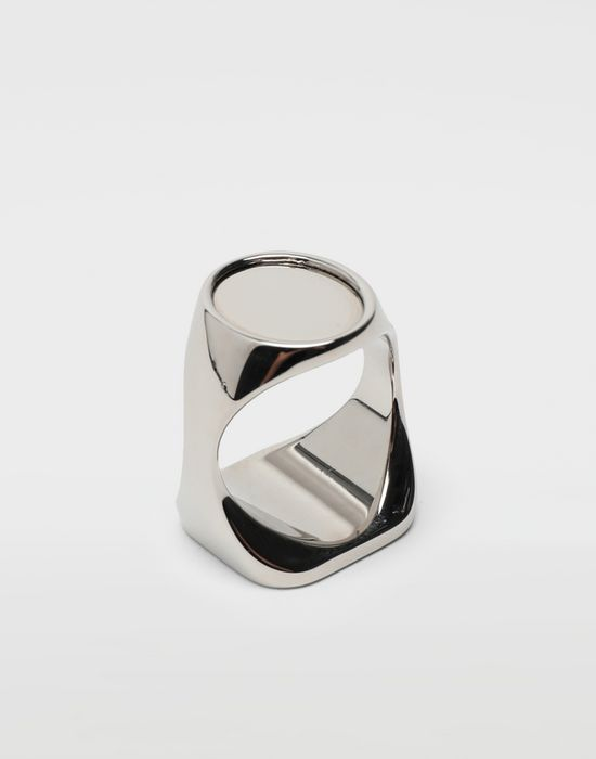 MAISON MARGIELA Chevalier palladium ring Ring [*** pickupInStoreShippingNotGuaranteed_info ***] r