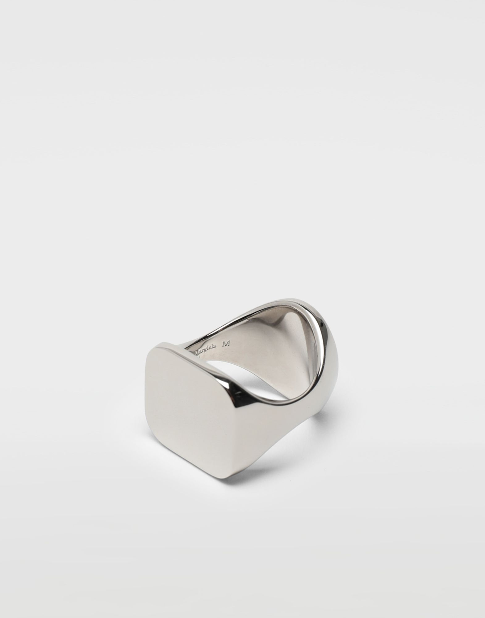 MAISON MARGIELA Chevalier palladium ring Ring Man d
