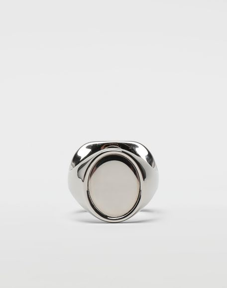 MAISON MARGIELA Chevalier palladium ring Ring Man f