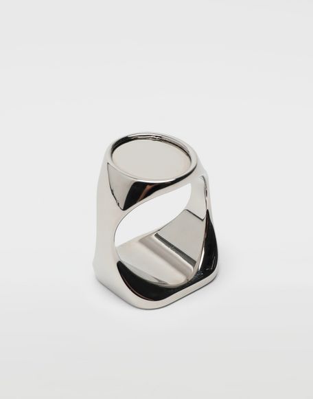 MAISON MARGIELA Chevalier palladium ring Ring Man r