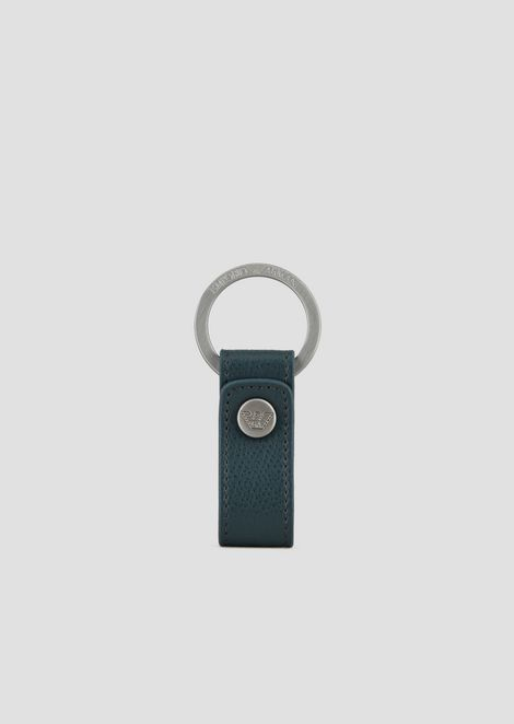 PRINTED LEATHER KEY RING
