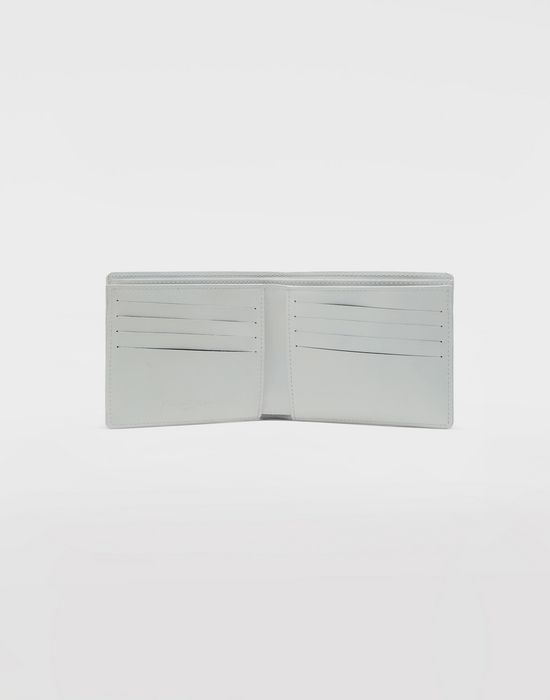 MAISON MARGIELA Brushed leather wallet Wallet [*** pickupInStoreShippingNotGuaranteed_info ***] d