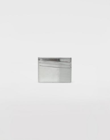 MAISON MARGIELA Credit card holder [*** pickupInStoreShippingNotGuaranteed_info ***] Brushed leather cardholder f