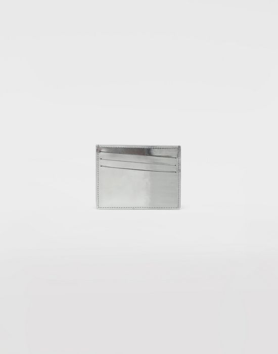 MAISON MARGIELA Brushed leather cardholder Credit card holder [*** pickupInStoreShippingNotGuaranteed_info ***] f