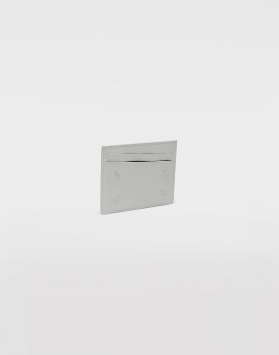 MAISON MARGIELA Brushed leather cardholder Credit card holder [*** pickupInStoreShippingNotGuaranteed_info ***] r