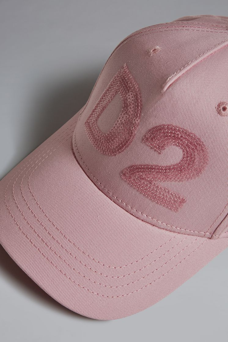 DSQUARED2 Sequined D2 Baseball Cap Головной убор Для Женщин