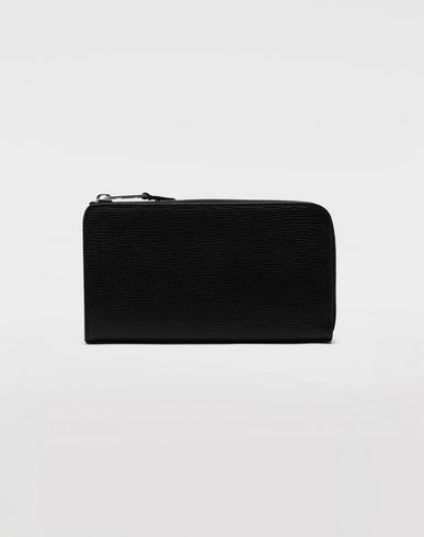 MAISON MARGIELA Wallets [*** pickupInStoreShippingNotGuaranteed_info ***] Long zip leather wallet f