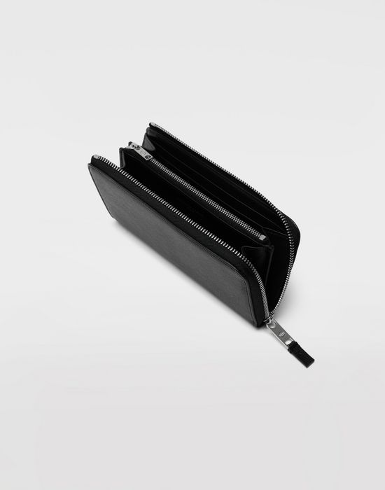 MAISON MARGIELA Long zip leather wallet Wallet [*** pickupInStoreShippingNotGuaranteed_info ***] d