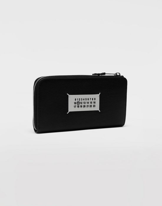 MAISON MARGIELA Long zip leather wallet Wallet [*** pickupInStoreShippingNotGuaranteed_info ***] r