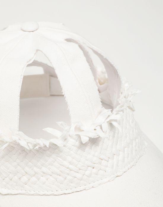 MAISON MARGIELA Décortiqué raphia cap Hat [*** pickupInStoreShippingNotGuaranteed_info ***] d