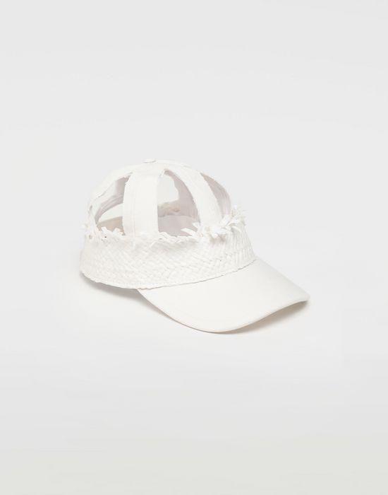 MAISON MARGIELA Décortiqué raphia cap Hat [*** pickupInStoreShippingNotGuaranteed_info ***] f