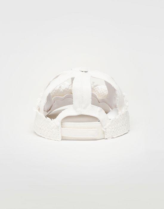 MAISON MARGIELA Décortiqué raphia cap Hat [*** pickupInStoreShippingNotGuaranteed_info ***] r