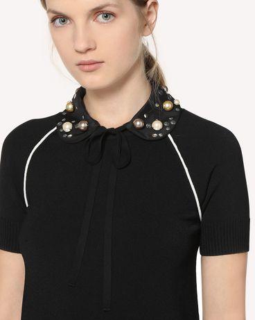 REDValentino RR3WAA00PKU 0NO Collar Woman r