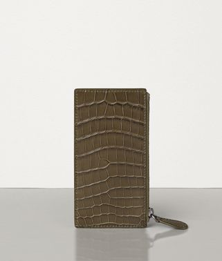 CARD CASE IN SOFT CROCODILE