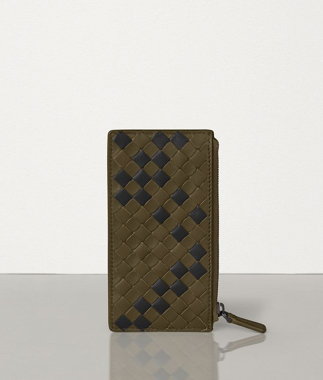 BOTTEGA VENETA CARD CASE IN INTRECCIATO NAPPA Card Case [*** pickupInStoreShippingNotGuaranteed_info ***] fp