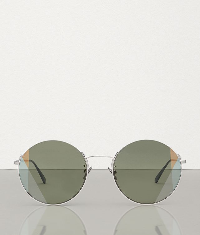 BOTTEGA VENETA SUNGLASSES IN METAL Sunglasses Woman fp