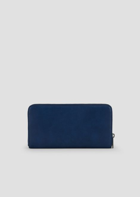 Continental wallet with maxi logo