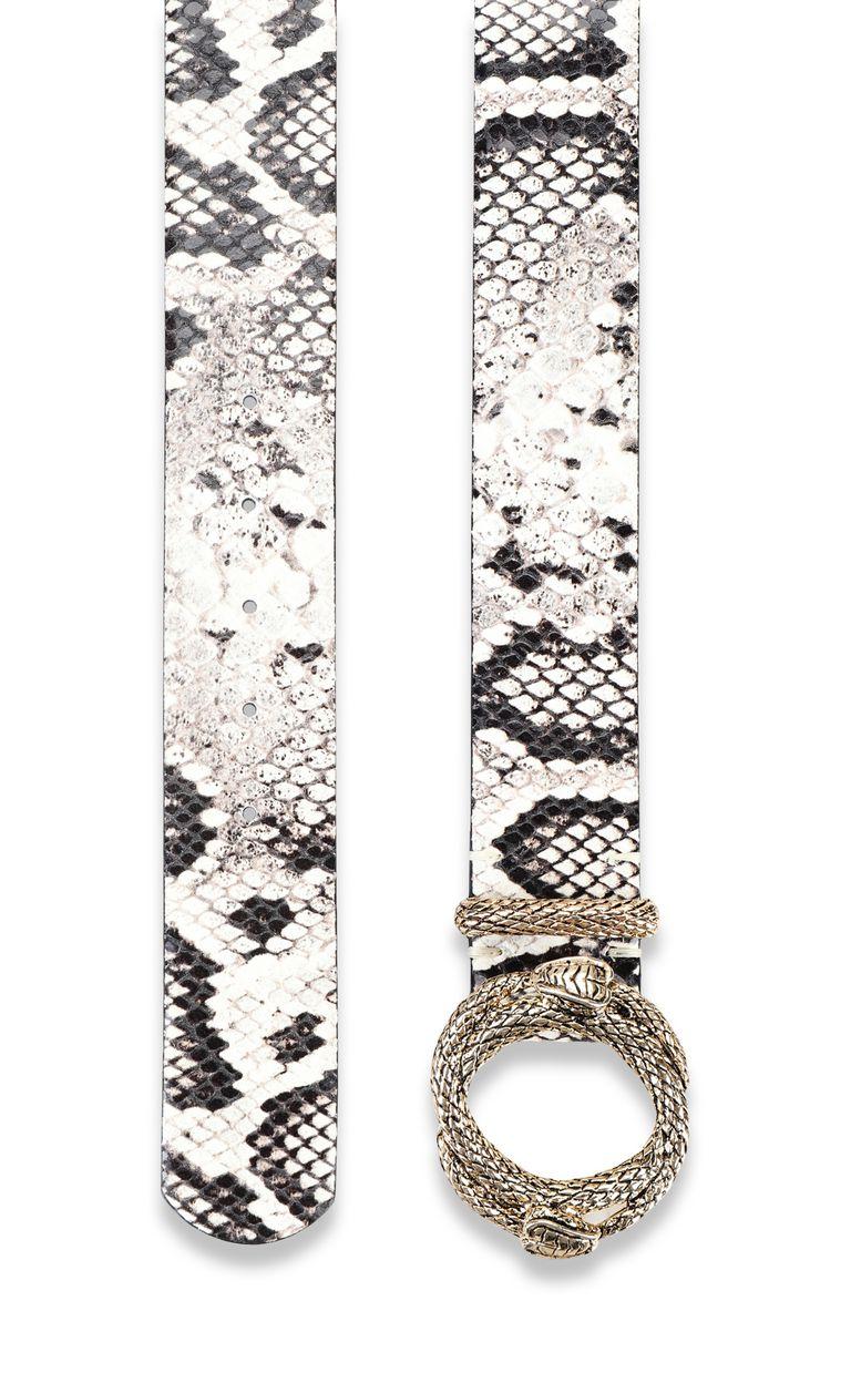JUST CAVALLI Cintura stampa pitonata Cintura Donna d