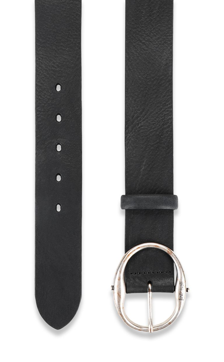 JUST CAVALLI Belt in tumbled leather Belt Man d
