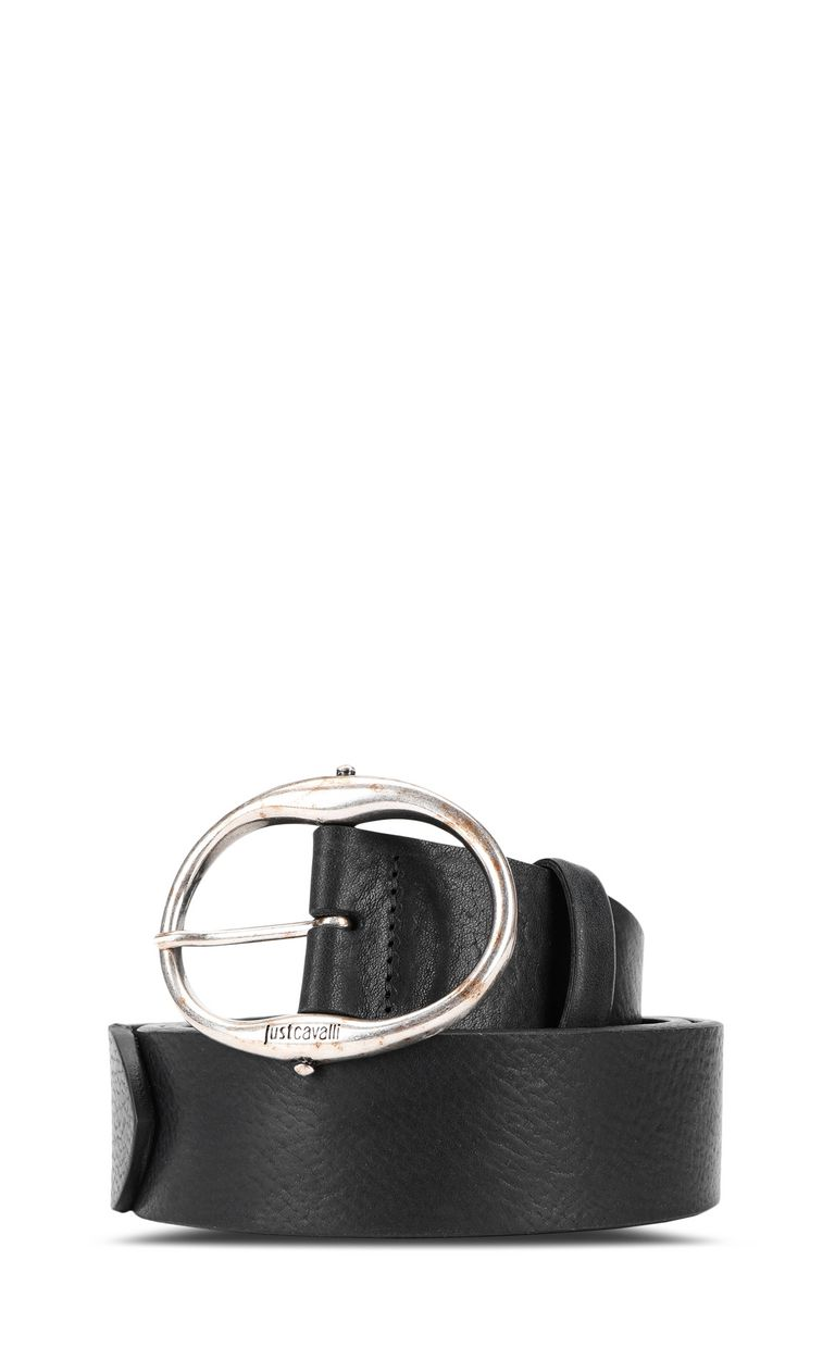 JUST CAVALLI Belt in tumbled leather Belt Man f