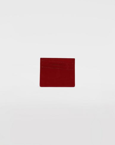 MAISON MARGIELA Bicoloured patent leather cardholder Wallet [*** pickupInStoreShippingNotGuaranteed_info ***] f