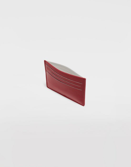 MAISON MARGIELA Bicoloured patent leather cardholder Wallets [*** pickupInStoreShippingNotGuaranteed_info ***] d