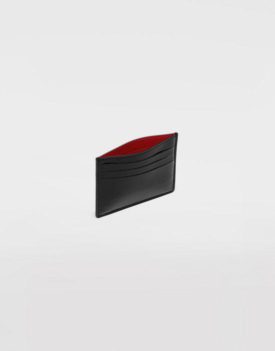 MAISON MARGIELA Bicoloured patent leather cardholder Wallet [*** pickupInStoreShippingNotGuaranteed_info ***] d