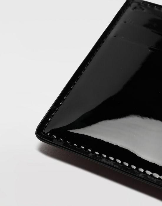 MAISON MARGIELA Bicoloured patent leather cardholder Wallet [*** pickupInStoreShippingNotGuaranteed_info ***] e