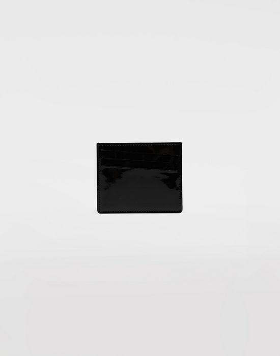 MAISON MARGIELA Bicoloured patent leather cardholder Wallet [*** pickupInStoreShippingNotGuaranteed_info ***] f