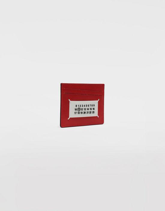 MAISON MARGIELA Bicoloured patent leather cardholder Wallet [*** pickupInStoreShippingNotGuaranteed_info ***] r