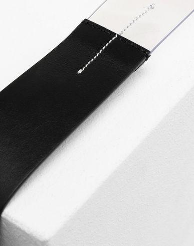 ACCESSORIES Half-And-Half buckled belt Black