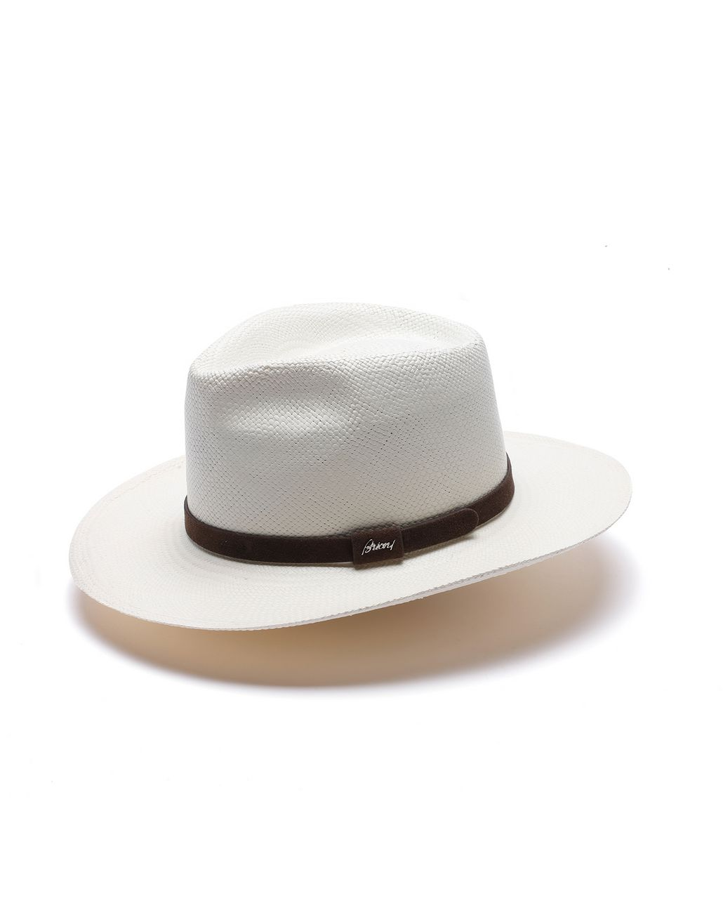 BRIONI White Panama Hat Hats & Gloves Man f