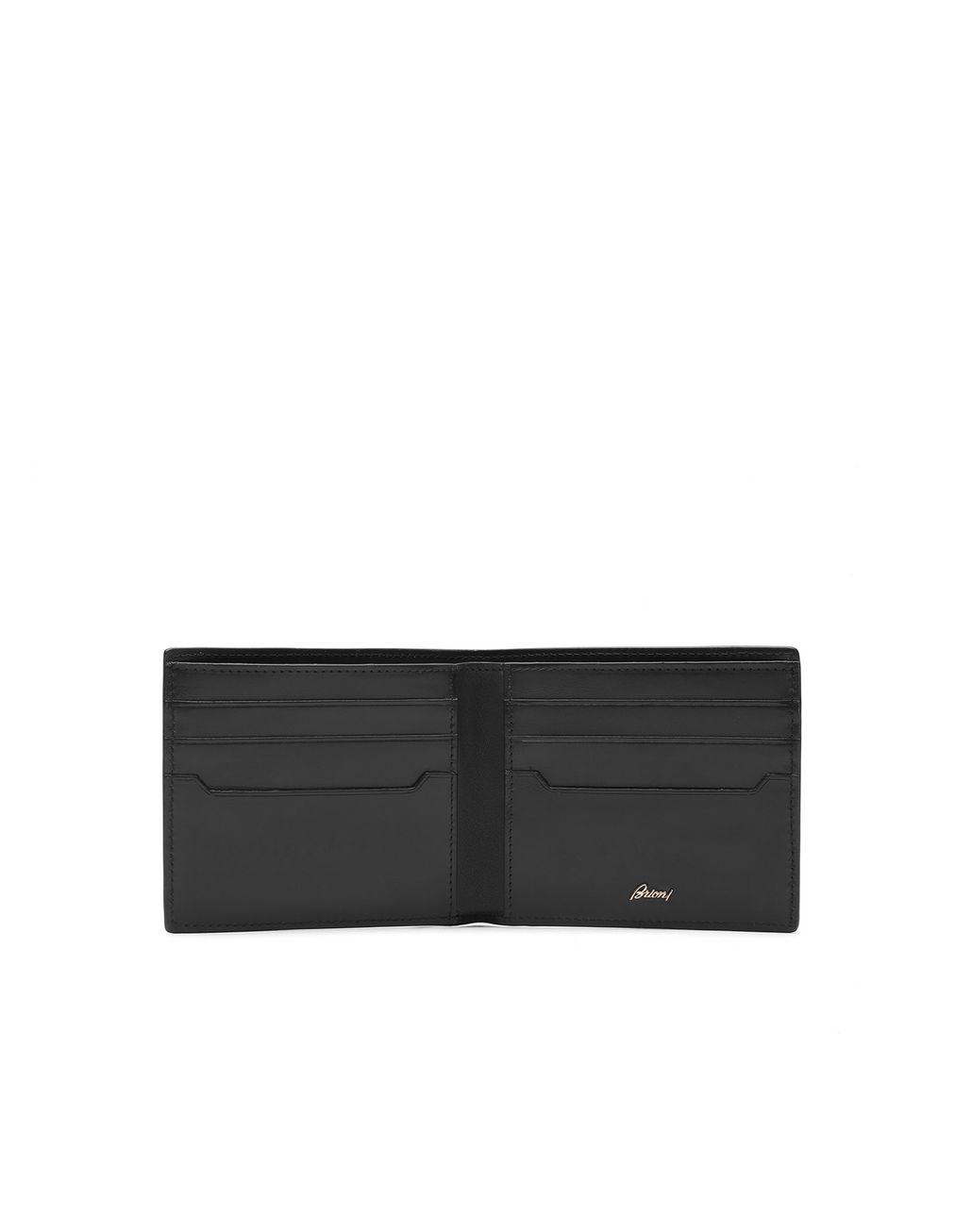 BRIONI Black Wallet Wallet [*** pickupInStoreShippingNotGuaranteed_info ***] r