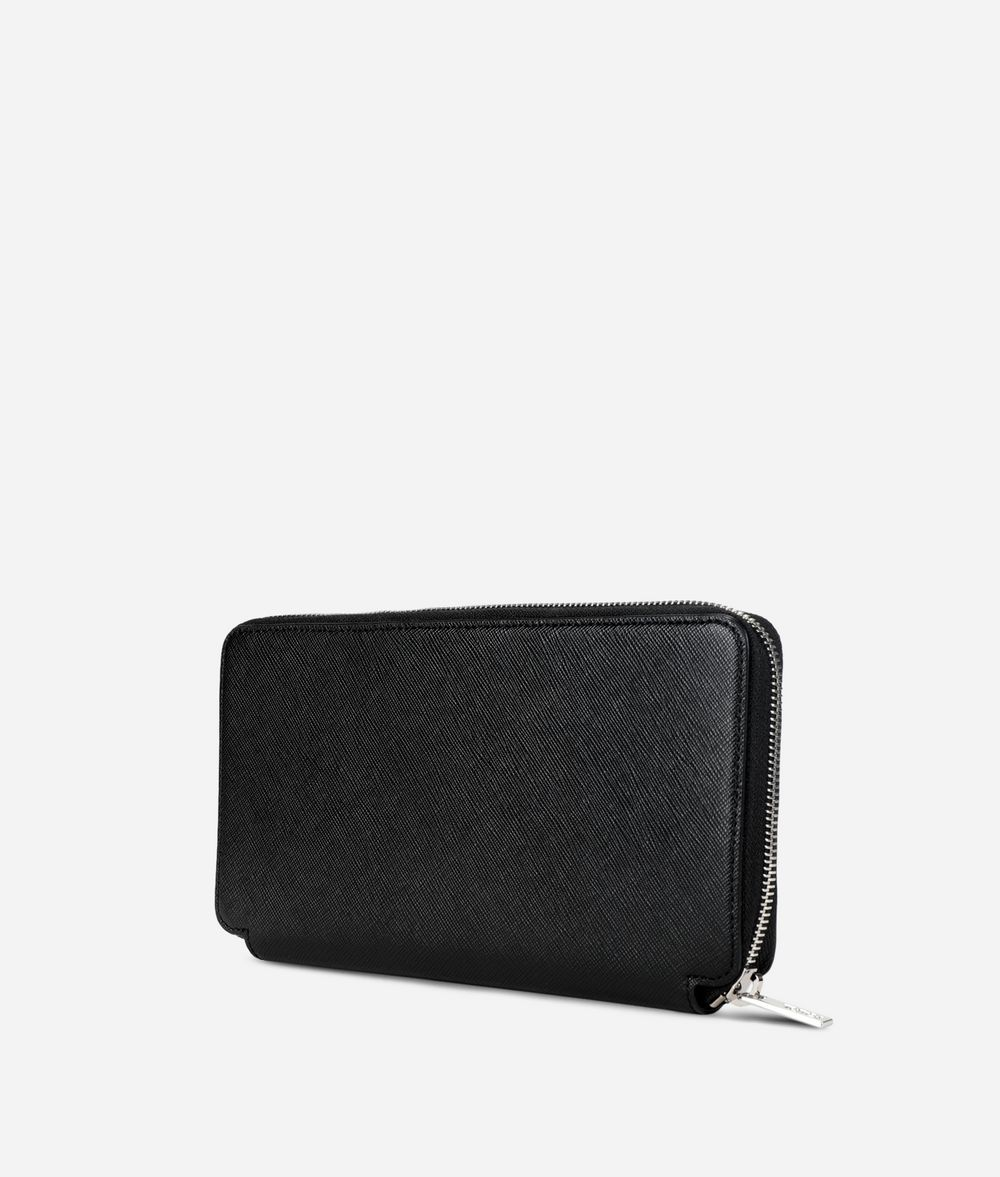 KARL LAGERFELD Large Leather Wallet Wallet Man d