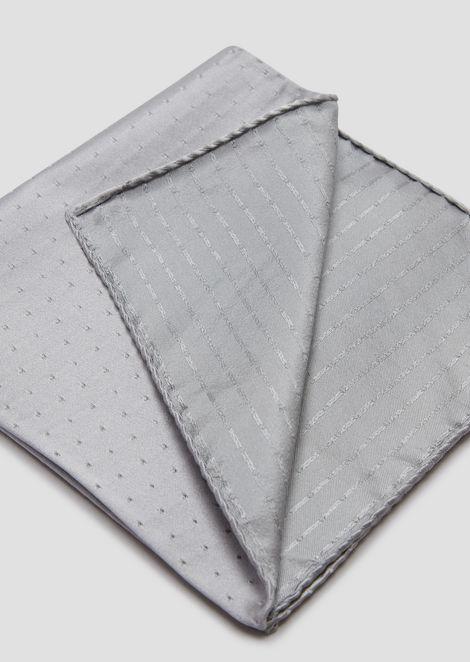 Pañuelo de bolsillo de seda pura