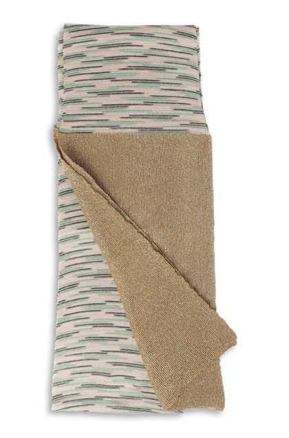 M MISSONI Scarf Beige Woman - Front