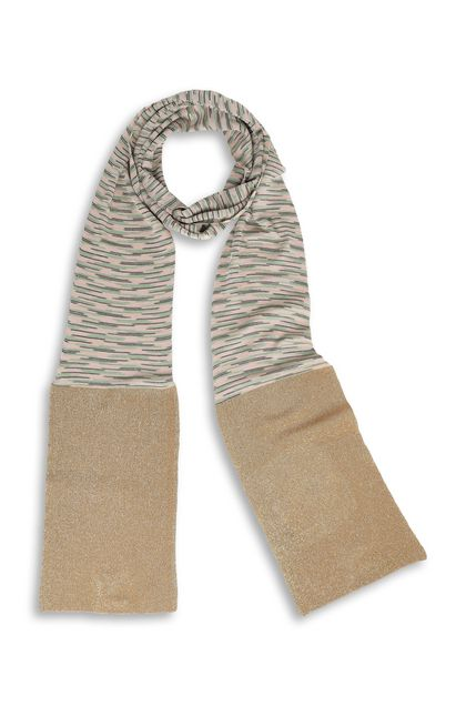 M MISSONI Scarf Beige Woman - Back