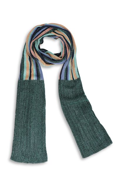 M MISSONI Scarf Dark green Woman - Back