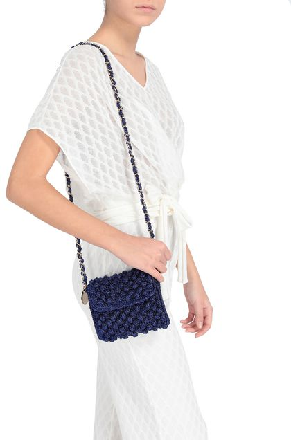 M MISSONI Borsa Blu china Donna - Fronte