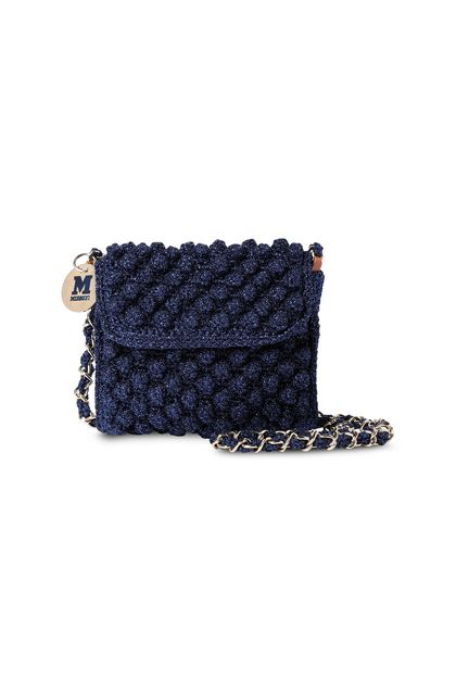 M MISSONI Bags Bright blue Woman - Back