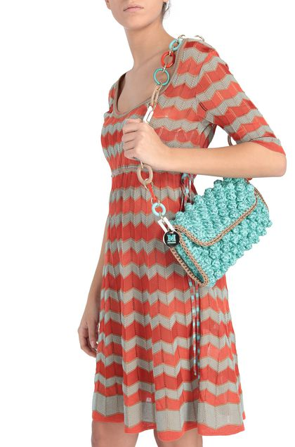 M MISSONI Bags Light green Woman - Front