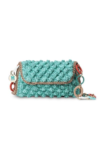 M MISSONI Bags Light green Woman - Back