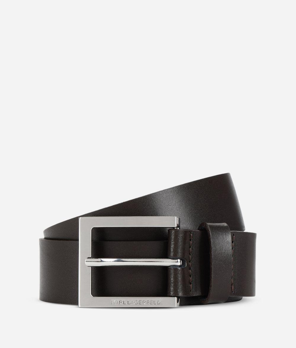 KARL LAGERFELD Leather Belt Belt Man f