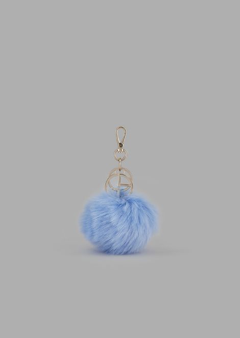 Keyring with sphere and GA charm