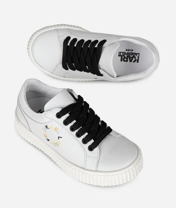 KARL LAGERFELD CIRCLE LOGO SNEAKERS