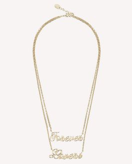 REDValentino Necklace Woman RQ2J0B10HRT 377 a