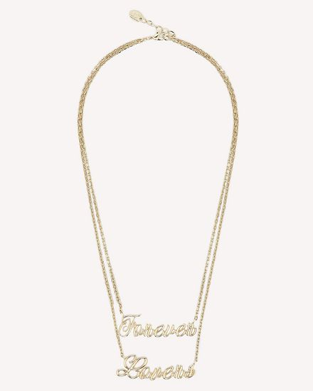 REDValentino Necklace Woman RQ0J0B27XUD O95 a