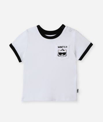 KARL LAGERFELD BAD BOY POCKET T-SHIRT