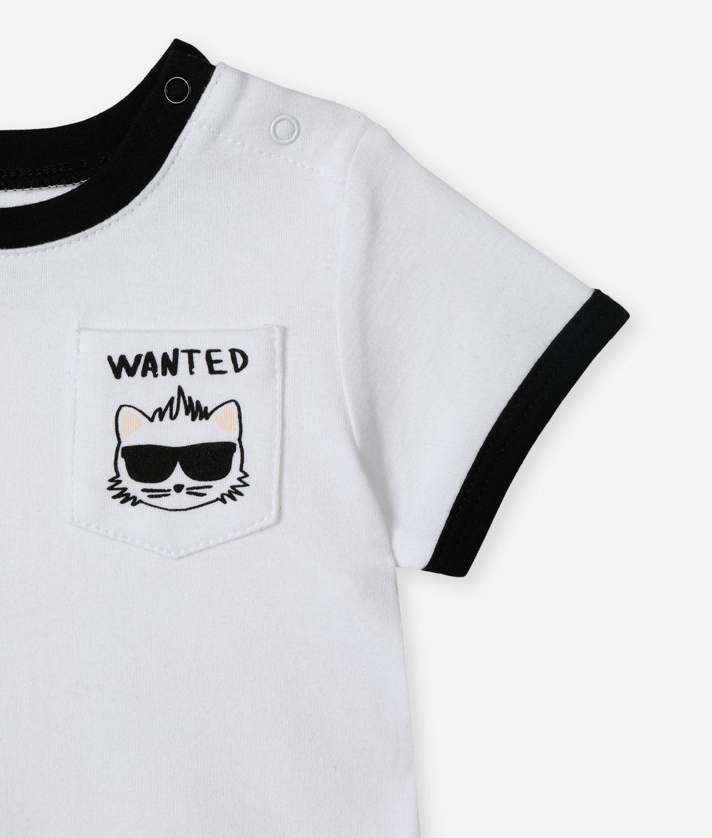 KARL LAGERFELD Bad Boy Pocket T-Shirt Kids' T-Shirt Man d